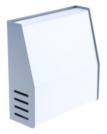 Hammond Sloped Front, Aluminium, Steel, 159 x 155 x 58mm Desktop Enclosure, Grey