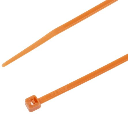 d5a998333dd0 RS PRO Orange Nylon Cable Clamp, 203mm x 2.5 mm | RS Components