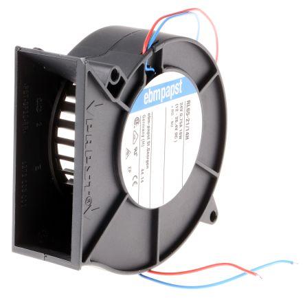 Centrifugal Blower 93.5 x 97 x 33mm, 61m³/h, 24 V dc (RL65 Series)
