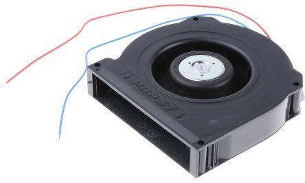 Centrifugal Blower 127 x 127 x 25.4mm, 64m³/h, 24 V dc (RLF100 Series)