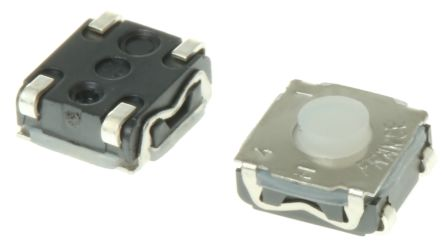 IP67 Button Tactile Switch, SPST-NO 50 mA @ 32 V dc 0.9mm Surface Mount