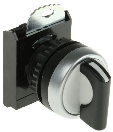 3 Position Selector Switch Head Standard Handle Black Latching product photo
