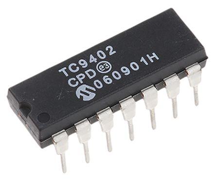 TC9402CPD, Voltage to Frequency Converter 100kHz ±0.5%FSR, 14-Pin PDIP