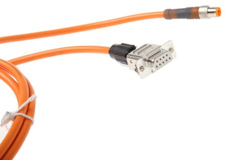 Dol 1204 G05m Sick M12 4 Pin 5m Female Connecting Cable