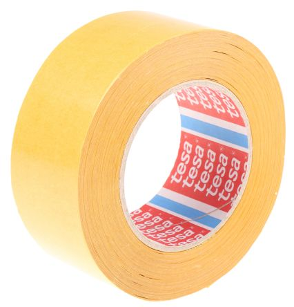 4959 Translucent Double Sided Cloth Tape, 50mm x 50m, 0.12mm Thick product photo