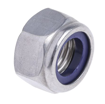Self Locking Nut >> Din 985 Rs Pro A2 Stainless Steel Self Locking Nut M16 275 692
