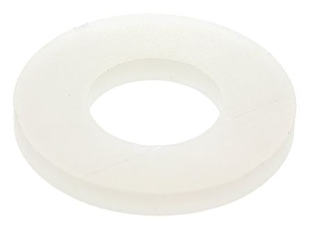 M8 Plain Nylon Tap Washer, 2mm Thickness