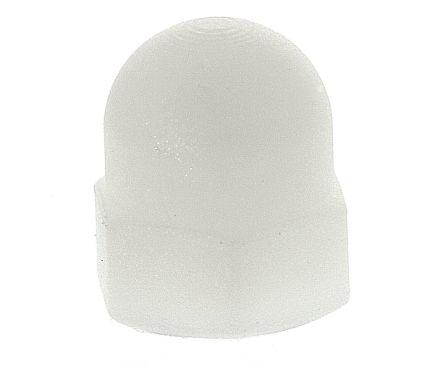 Nylon 6.6 coarse threaded dome nut,M6