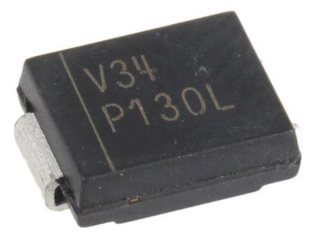 Vishay VS-MBRS340-M3/9AT SMT Schottky Diode, 40V 4A, 2-Pin DO-214AB