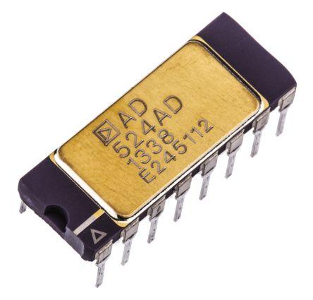 AD524AD , Instrumentation Amplifier, 0.25mV Offset 25MHz, 16-Pin SBCDIP product photo