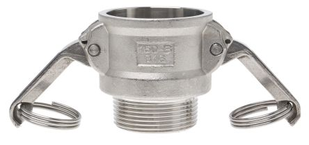 Straight Male Hose Coupling 1-1/2in Part B Cam