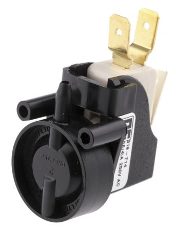 6871 Series Latching Air Switch, 250mm Fly Lead, Surface Mounted product photo