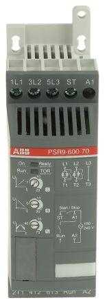 ABB 9 A Soft Starter PSR Series, IP20, 4 kW, 208 → 600 V