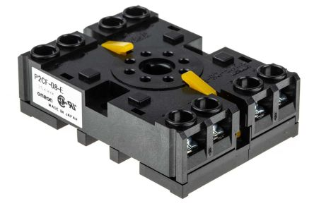 P2CF-08-E Socket H3CR-A Series, H3CR-F Series, H3CR-G Series, H3CR-H Series product photo