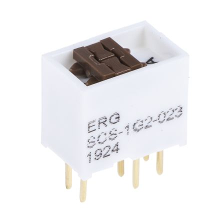 1 Way Through Hole DIP Switch DPDT product photo