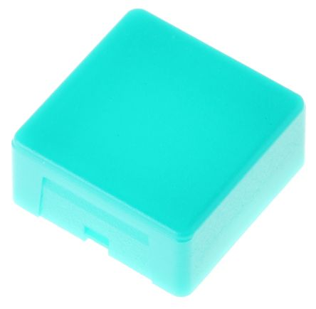Indicator Lens Square Style, Green, 20.5 mm Long product photo