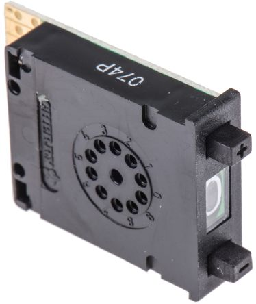 Push Button Switch BCD Pushwheel Tab Panel Mount 100mO 10-way Black 0.1 A@ 50 V ac product photo