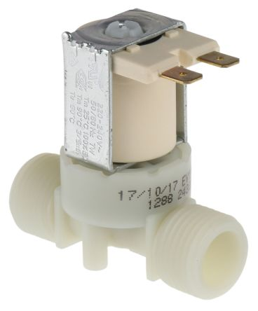 Hydralectric Solenoid Valve 72004, 2 port , NC, 240 V ac, 1/2in