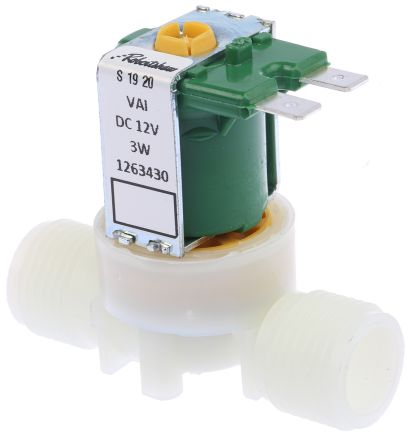 Hydralectric Solenoid Valve 72003, 2 port , NC, 12 V dc, 1/2in on