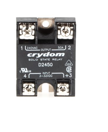D2450 Crydom 50 A Rms Solid State Relay Zero Cross Surface - Solid State Relay Brands