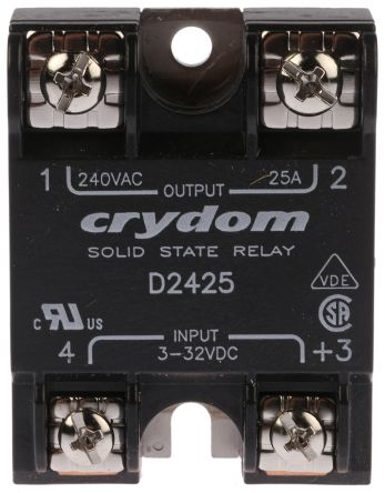 Sensata Crydom 25 A rms Solid State Relay Zero Cross Surface