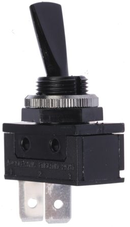 Arcolectric SPST Toggle Switch, On-Off, IP40, Panel Mount