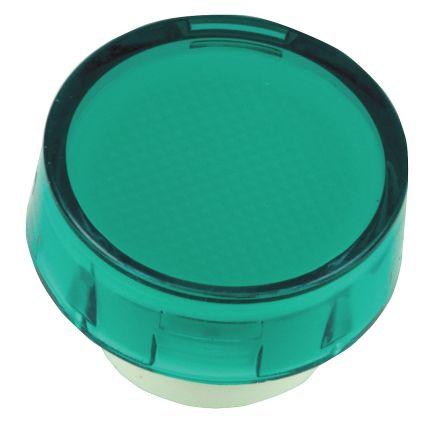 Circular green lens for 16mm indicator