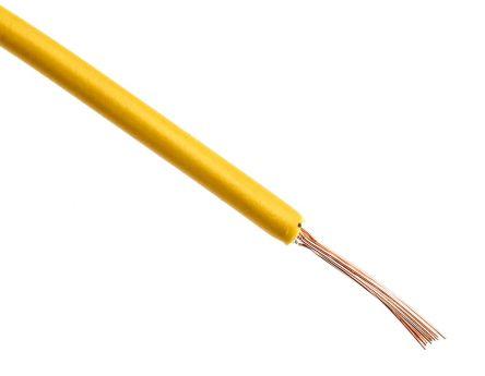 10 Metre 16//0.2mm Single Core Hook Up Wire Orange