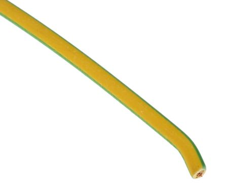 2.5mm Single Core Conduit Cable GREEN//YELLOW COLOUR