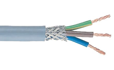 Belden Belden CY 3 Core CY Control Cable 0.75 mm², 100m, Screened
