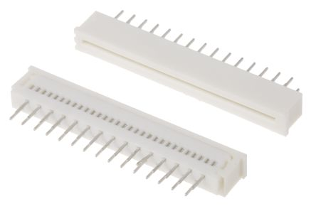 Molex Easy-On 5597 Series 1.25mm Pitch 30 Way Straight Female FPC Connector, ZIF Vertical Contact