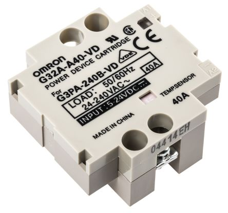 G32A-A40VD power cartridge for relay,40A