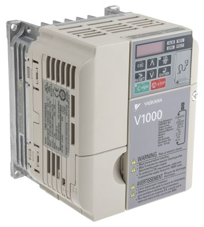 Omron Inverter Drive, 3-Phase In, 0.1 → 400Hz Out 0.75 kW, 400 V, on