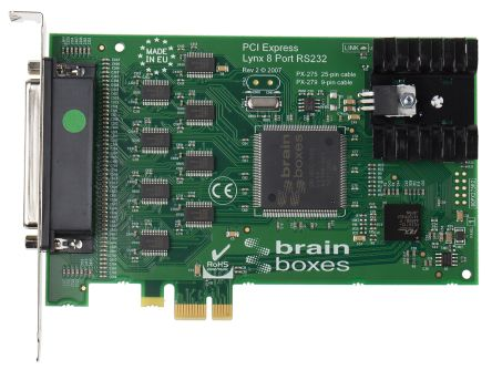 Brainboxes 8 Port PCIe RS232 Serial Board