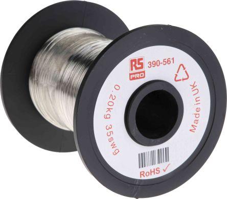 RS PRO Single Core 0 21mm diameter Copper Wire, 717m Long