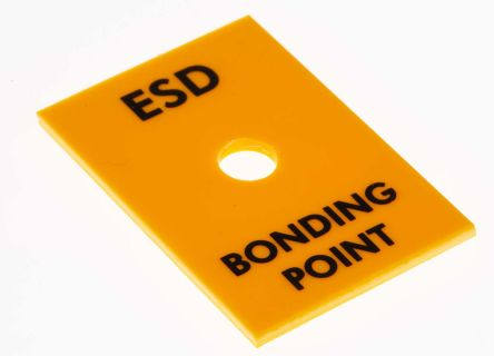 RS Pro ESD Rack Bonding Point with 10 mm Stud