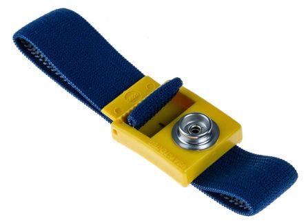 10mm malestud fully adj fabric wristband