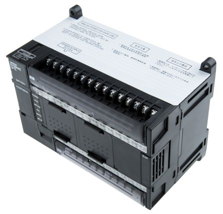 Omron CP1L PLC CPU, USB Networking Computer Interface, 10000 Steps Program  Capacity, 24 (DC) Inputs, 16 (Transistor)