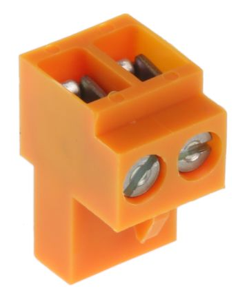 Weidmuller BL Non-Fused Terminal Block, 2 Way/Pole, Screw Down Terminals,  26 → 14 AWG Cable Mount, Nylon, 400 V