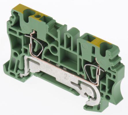 Weidmuller 2 Way Clamp ZPE 2.5, 63mm Length 26 → 12 AWG