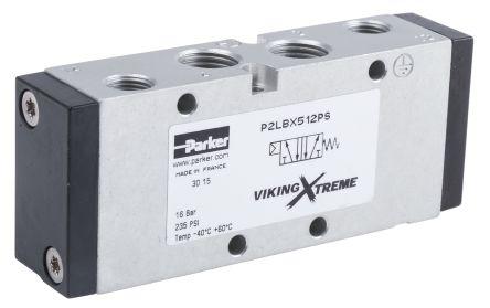5/2 Pneumatic Control Valve Pilot/Spring G 1/4 Viking Xtreme Series product photo