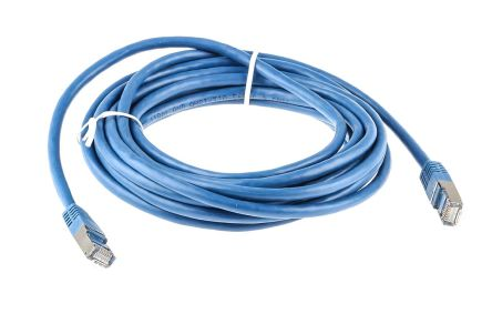RS Pro Blue 5m Cat6 Ethernet Cable Assembly RJ45 | RS Components