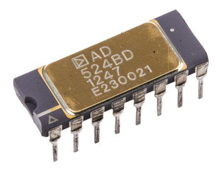 AD524BD , Instrumentation Amplifier, 0.1mV Offset 25MHz, 16-Pin SBDIP product photo