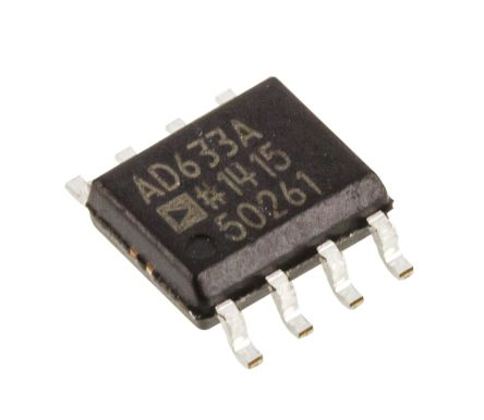 Analog Devices AD633ARZ 4-quadrant Voltage Multiplier, 1 MHz, 8-Pin SOIC