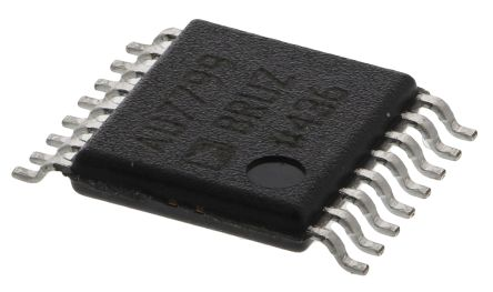 Analog Devices AD7799BRUZ, 24-bit Serial ADC Differential Input, 16-Pin TSSOP