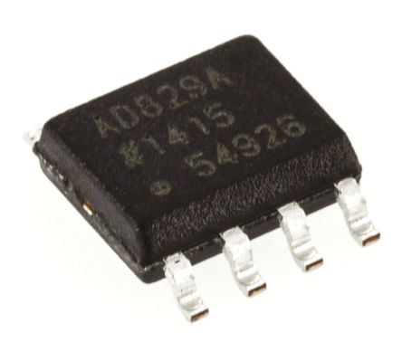Analog Devices AD829ARZ, Video Amp, 600MHz 150V/μs, 8-Pin SOIC