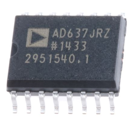 Analog Devices AD637JRZ, True RMS-DC Converter 16-Pin, SOIC W