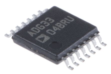 Analog Devices ADG3304BRUZ, Logic Level Translator, 3-State, 1.15 → 5.5 V, 14-Pin TSSOP