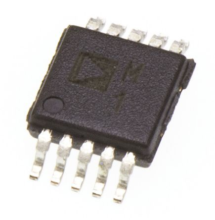 Analog Devices ADM101EARMZ, Line Transceiver, RS-232, 5 V, 10-Pin MSOP