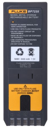 Fluke BP7235 Rechargeable Calibrator Battery Pack, For Use With Fluke 700 Calibrator, Fluke 740 Calibrator